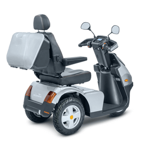 AFIKIM - Afiscooter S 3 Scooter Single, Dual Seat or Touring SILVER GREY BLUE RED 🛵 - All Wheels Mobility