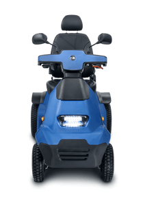 AFIKIM - Afiscooter S 4 Scooter Single, Dual Seat or Touring SILVER BLUE GREY RED 🛵 - All Wheels Mobility