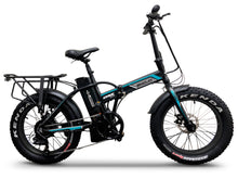 "Load image into Gallery viewer, Emojo - Lynx 20"" PRO 750W 48V Fat Tire Folding E-Bikes BLACK WHITE BLUE RED  🔥🚴‍♂️ NEW ITEM ALERT!! PLUS FREE GIFT 🎁 - All Wheels Mobility"