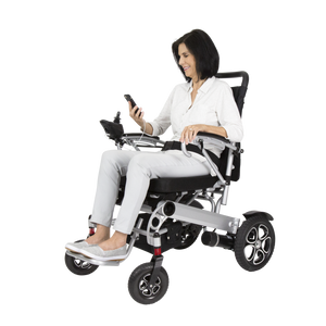 Vive Health - Foldable Power Wheelchair  🛵 - All Wheels Mobility