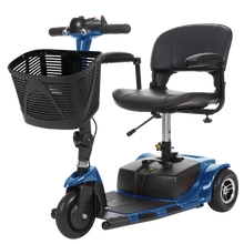 Load image into Gallery viewer, Vive Health - 3 Wheel Mobility Scooter BLUE SILVER RED 🛵 - All Wheels Mobility