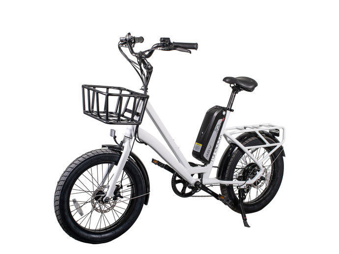 Revi Bikes – The Runabout 500W 48V Electric City Bike PEARL WHITE, OBSIDIAN BLACK 🚴‍♂️ - All Wheels Mobility
