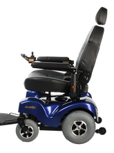 Load image into Gallery viewer, Merits Health - P71026 Atlantis Heavy Duty Power Chair BLUE RED 👩‍🦼 - All Wheels Mobility