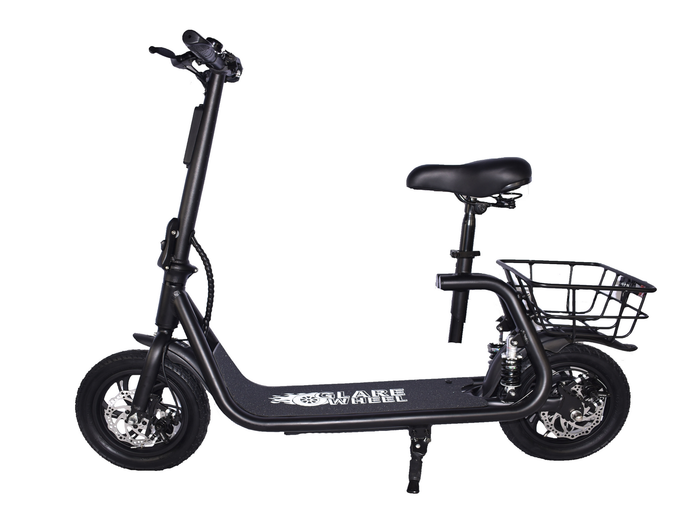 GlareWheels - EB-C1 PRO 350W 36V 8Ah Electric Commuter Scooter BLACK 🔥 🚴‍♂️NEW SCOOTER ALERT! $529 FLASH SALE
