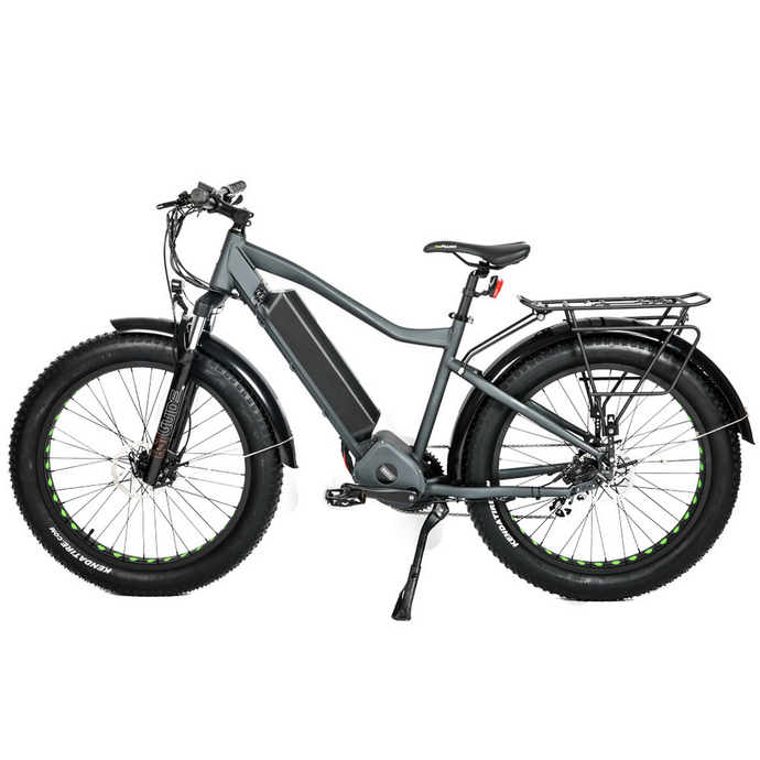 Eunorau - FAT-HD 1000W 48V E-Bike BLUE GREY  🚴‍♂️ - All Wheels Mobility