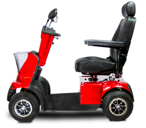 AFIKIM - Afiscooter C 4 Scooter Single Seat or Touring GREY BLUE SILVER RED 🛵 - All Wheels Mobility