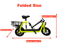 Load image into Gallery viewer, GlareWheels - EB-C1 350W 36V Electric Commuter Scooter NEON GREEN 🔥 🚴‍♂️HOT HOT SELLER!! - All Wheels Mobility