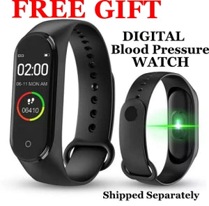 Digital Blood Pressure Monitoring Watch - All Wheels Mobility