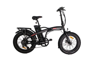 Revi Bikes – The Rebel 1.0 500W 48V Folding Electric Bike MATTE BLACK, PEARL WHITE 🚴‍♂️ - All Wheels Mobility