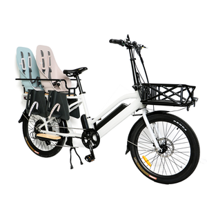 "Eunorau - Max-Cargo E-Bike 24"" WHITE  🚴‍♂️ - All Wheels Mobility"