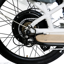 "Load image into Gallery viewer, Eunorau - Max-Cargo E-Bike 24"" WHITE  🚴‍♂️ - All Wheels Mobility"
