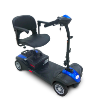 Load image into Gallery viewer, EV Rider - 4-Wheel MiniRider Lite Scooter ROSE GOLD, ROYAL BLUE, GYPSY RED, PEARL GREEN or METALLIC SILVER 🛵 - All Wheels Mobility