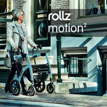 Load image into Gallery viewer, Triumph Mobility - Rollz Motion Walker PEBBLE WHITE, ISLAND BLUE, BLACK, DARK PURPLE 🦽 - All Wheels Mobility
