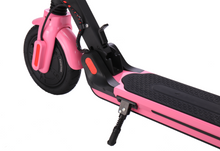 Load image into Gallery viewer, GlareWheels - S10 300W 36V Foldable Electric Scooter BLACK WHITE PINK 🛴 - All Wheels Mobility