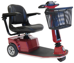 Amigo - RT Express Deluxe Scooter CLASSIC RED, TRUE BLUE and MIDNIGHT BLACK 🛵 - All Wheels Mobility