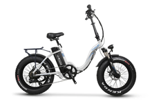 Load image into Gallery viewer, Emojo - Ram Sport 750W Folding E-Bike BLUE ORANGE RED WHITE 🚴‍♂️ - All Wheels Mobility