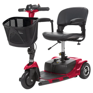 Vive Health - 3 Wheel Mobility Scooter BLUE SILVER RED 🛵 - All Wheels Mobility