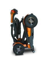 Load image into Gallery viewer, EV Rider - 4-Wheel Teqno Scooter JUPITER GOLD or RUBY RED 🛵 - All Wheels Mobility