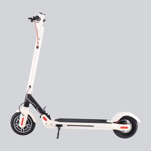 GlareWheels - S10 300W 36V Foldable Electric Scooter BLACK WHITE PINK 🛴 - All Wheels Mobility