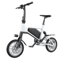 Load image into Gallery viewer, GlareWheels - X5 Foldable E-Bike WHITE BLACK RED 🚴‍♂️ - All Wheels Mobility