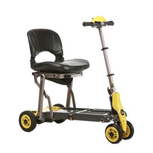 Merits Health - S542 Yoga Mobility Scooter YELLOW w/ Optional Case 🛵 - All Wheels Mobility