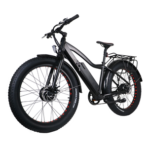 Eunorau - FAT-AWD 48V/250W+350W E-Bike BLACK 🚴‍♂️ - All Wheels Mobility