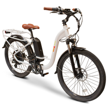 Load image into Gallery viewer, EWheels - BAM-Step Thru 750W 48V E-Bike WHITE 🚴‍♂️ - All Wheels Mobility