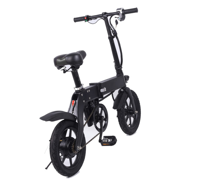 GlareWheels - X6 Foldable E-Bike BLACK 🚴‍♂️