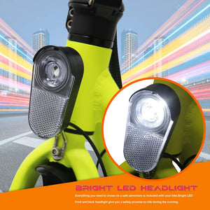 GlareWheels - EB-C1 350W 36V Electric Commuter Scooter NEON GREEN 🔥 🚴‍♂️HOT HOT SELLER!! - All Wheels Mobility