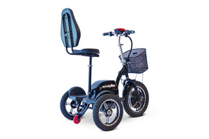 EWheels - EW-Big Wheels Electric Scooter BLACK RED 🛵 - All Wheels Mobility