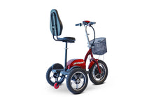 Load image into Gallery viewer, EWheels - EW-Big Wheels Electric Scooter BLACK RED 🛵 - All Wheels Mobility
