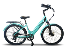 Load image into Gallery viewer, Emojo - Panther PRO 500W 48V E-Bike BLACK, WHITE, TEAL GREEN, MATTE RED 🚴‍♂️
