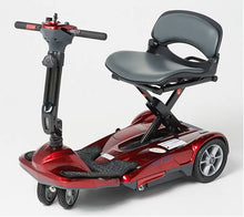 Load image into Gallery viewer, EV Rider - 4-Wheel Transport M Easy Move Scooter BURGUNDY RED, SEA BLUE, PENNY COPPER or METALLIC PLUM 🛵 - All Wheels Mobility