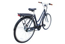 Load image into Gallery viewer, Micargi - Lumia 28″ 250W 36V Shimano Electric City Bike DARK BLUE, RED  🚴‍♂️ - All Wheels Mobility