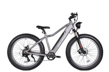 "Load image into Gallery viewer, Micargi - Steed 26"" 800W 48V Aluminum FAT Tire Shimano Tourney Electric Bike BLACK, MATTE BLACK, MATTE GREY 🚴‍♂️ - All Wheels Mobility"