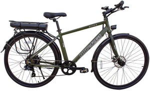 Micargi - Kona 350W 36V Electric Bike BLACK, MATTE ARMY GREEN 🚴‍♂️ - All Wheels Mobility