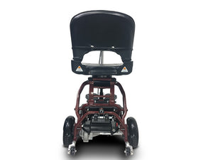EV Rider - 4-Wheel MiniRider Folding Scooter DEEP RED or ROYAL BLUE 🛵 - All Wheels Mobility