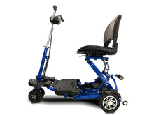 Load image into Gallery viewer, EV Rider - 4-Wheel MiniRider Folding Scooter DEEP RED or ROYAL BLUE 🛵 - All Wheels Mobility