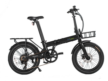 Load image into Gallery viewer, Qualisports - Dolphin 350W 36V E-Bike SILVER BLACK 🚴‍♂️ - All Wheels Mobility