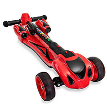 Load image into Gallery viewer, GlareWheels - Y1 Kids Foldable Scooter Smoking Rocket RED PINK BLUE BLACK YELLOW 🛴 - All Wheels Mobility