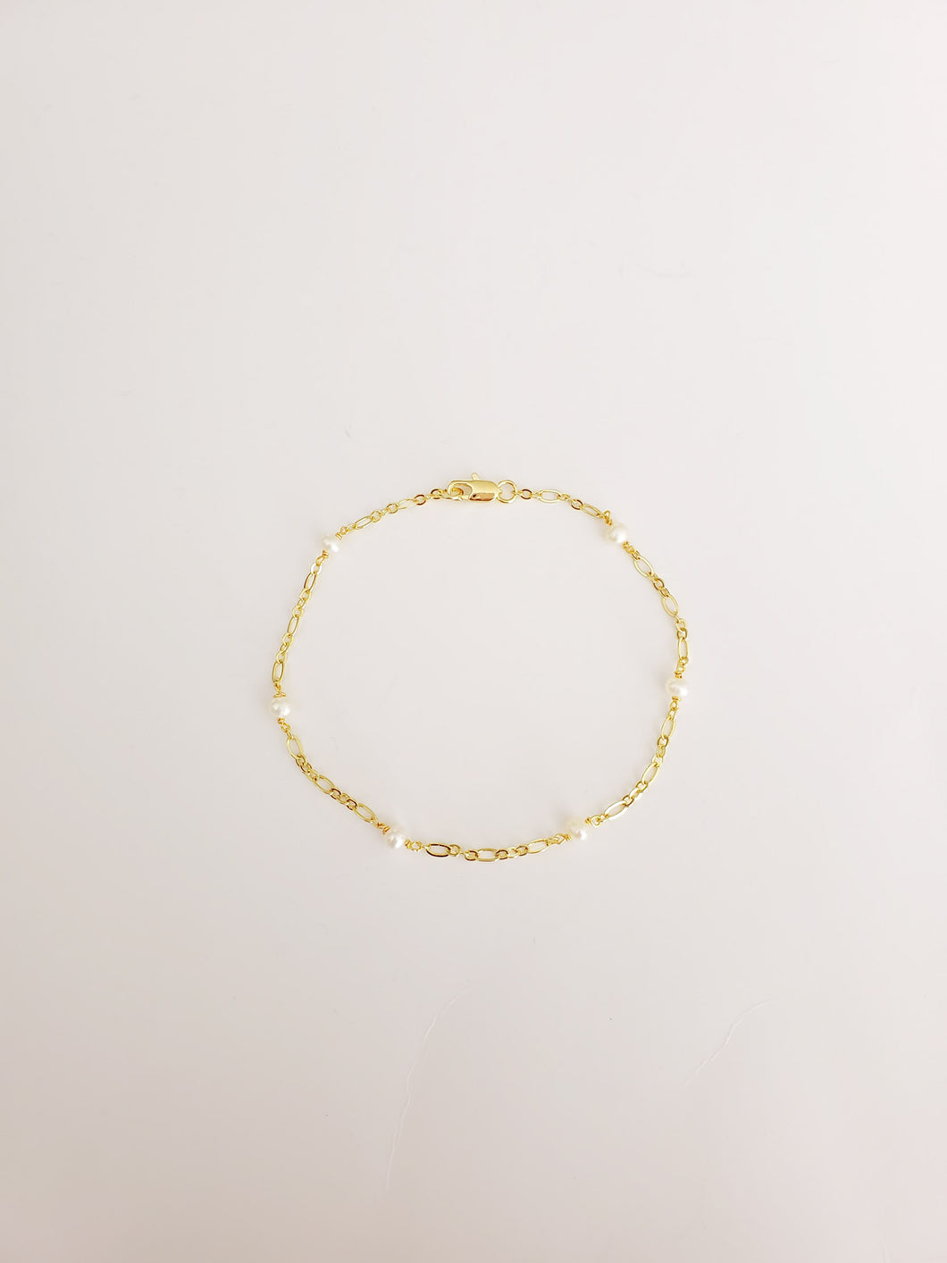Pearls chain Anklet