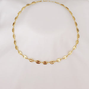 Anchor Link Gold Necklace/Choker