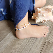 Load image into Gallery viewer, Pearls Anklet