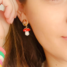 Load image into Gallery viewer, Magic Mushrooms Earrings