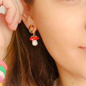 Magic Mushrooms Earrings