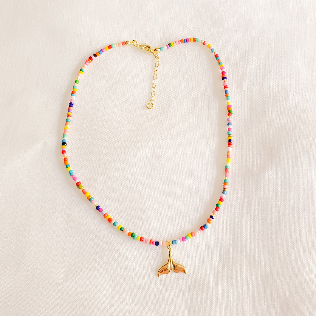 Mermaid Tail Multi-Colored Necklace