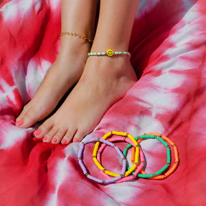 Beach Polymer Anklets