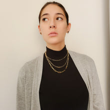 Load image into Gallery viewer, Paper Clip Choker/Necklace