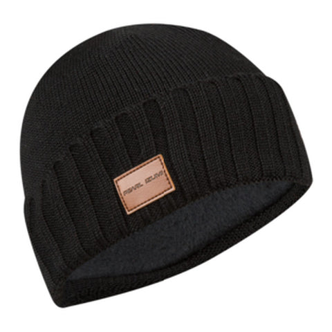 Unisex Knit Beanie Hat, Black, One Size