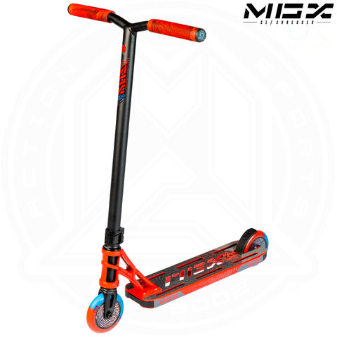 "MGP MGX S1 - SHREDDER 4.5"" - RED/BLACK"